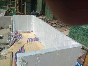 90 mm op maat gemaakt acryl zwembad